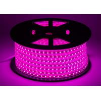 Buy cheap Pink IP67 High Voltage LED Strip W12.5mm * H7.5mm Size Long Lifespan from wholesalers