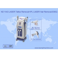 Buy cheap 2 In 1 Permanent IPL Hair Removal Q switch Nd Yag Laser Tattoo Removal from wholesalers
