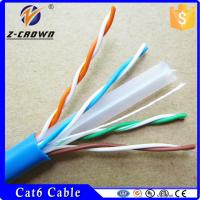 Buy cheap Superior Quality UL Listed CMP Plenum Cable Cat5e/ Cat6 Fluke Certified product