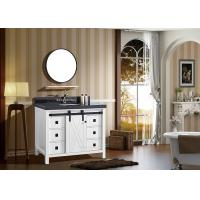 Buy cheap 1 Sliding Door 6 Drawers American Bathroom Vanity Smooth And Silent Finish from wholesalers