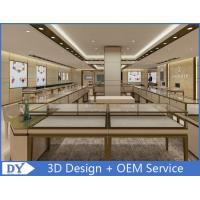 Buy cheap OEM Modern Shop Showroom Jewellery Counter Display With Led from wholesalers