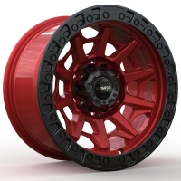 Buy cheap KIPARDO 4X4 rims alloy wheel 17 inch 6x139.7 offroad PCD 5X150 car suv rim from wholesalers