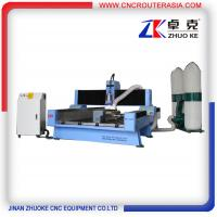 Buy cheap 4 axis Stone machine for engraving cutting with YASKAWA servo system ZK-1325 from wholesalers