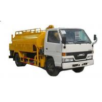 Buy cheap JMC 5000L Septic Vacuum Trucks Sewage Disposal Truck Heavy Duty RHD / LHD from wholesalers