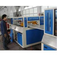 Buy cheap 30mm TH WPC Board Production Line For Wood Powder , Waste Plastic from wholesalers