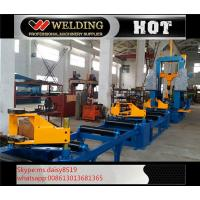 Buy cheap Auto Combination Machine H Beam Welding Line With Assembly / Welding And Straightening from wholesalers