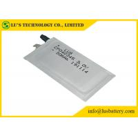 Buy cheap RFID Suitable Flexible Lithium Battery Ultra Thin 0.4mm CP042345 For Smart Cards from wholesalers