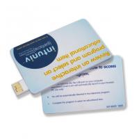 Buy cheap Credit Card Flash USB Drives 512MB 1GB 2GB Promotion from Wholesalers