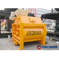 China 2m3 Concrete Mixer Machine , Belle Electric Cement Mixer With Low Noise on sale