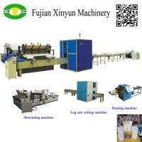 Buy cheap High speed automatic small toilet roll paper machine production line from wholesalers