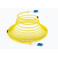 Buy cheap FTTH LC - LC SM DX Glass Fiber Optic Cable Patch Cord 1m 3m 5m Length from wholesalers