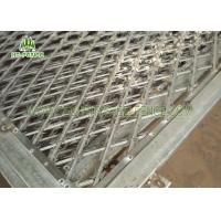 Buy cheap Diamond Type Concertina Razor Wire Fence / 150 × 300mm Razor Ribbon WireFence from wholesalers