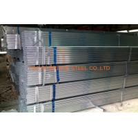 Buy cheap DIN1626 Pre Galvanized Steel Pipe , Q195 / Q235 Hollow Section Square Tubing from wholesalers