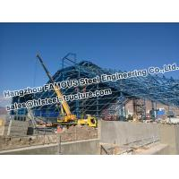 Buy cheap Mine Industry PEB Structural Steel Fabrications Pipe Truss Structure from wholesalers