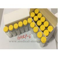 Buy cheap GHRP-6 Releasing Hexapeptide 5Mg For Muscles Building Ghrelin Receptor CAS 87616-84-0 from wholesalers