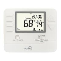 Buy cheap White Backlight 5/1/1 Progammable Gas Boiler And Electric  Digital Heating Room Thermostat from wholesalers