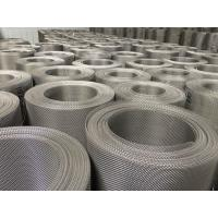Buy cheap Customized Stainless Steel Mesh Roll , Ss 316L Dutch Woven Wire Mesh Panels from wholesalers