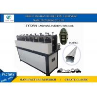 Buy cheap Easy Operate Wrought Iron Machine / Hanrail Pipe Forming Equipment from wholesalers