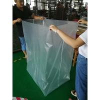 Buy cheap Clear Plastic PVC Mattress Cover Bag , Nylon Plastic Bag With Zipper Closure from wholesalers