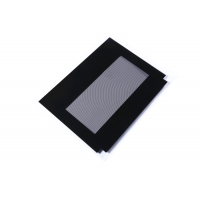 Buy cheap Black Frame Irregular 3.2mm CNC Oven Outer Glass Replacement from wholesalers