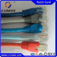 Buy cheap RJ45 Patch Cord UTP Cat5e/Cat6 Patch Cable Colorful Patch Leads 8 Colors from wholesalers