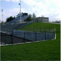 Buy cheap PVC Coated Chain Link Fence Panels Playground / Gardens , 1.00m-5.00m Roll Width from wholesalers