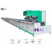 5M / Min Tarpaulin Welding Machine 15KW 25KVA Input For Producing Advertising Billboards