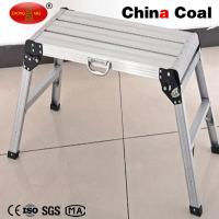 Buy cheap CE EN131 certificated Aluminum foldable telescopic working platform YM201 for sale from wholesalers