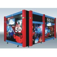 Buy cheap Home Hydraulic / Electric Moiton 5D Theater / 7d Cinema Simulator product