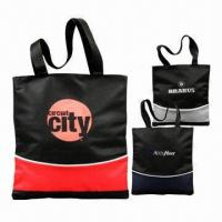 Buy cheap Nylon/Polyester Fabric Tote bags, Various Sizes and Colors are Available from wholesalers