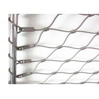 Buy cheap Flexible X-tend Ferruled Stainless Steel Wire Rope Mesh For Balcony Balustrade from wholesalers