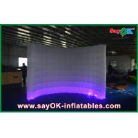 Buy cheap Automatic Led Inflatable Photo Booth , Party Decorative Photobooth Kiosk from wholesalers