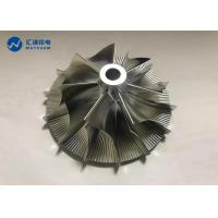 Buy cheap Wheel Rotor Impeller CNC Precision Components 5 Axis Machining Center from wholesalers