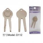 Buy cheap D122 cheap metal golf divot tool from wholesalers