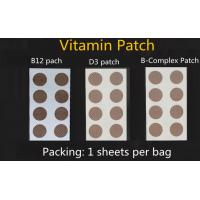 Buy cheap B12 vitamin patch, energy patch, D3 patch, B complex patch,glutathione patch from wholesalers