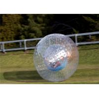 Buy cheap 300*200cm TPU Inflatable Zorb Ball Clear Human Hamster Ball 68kg from wholesalers