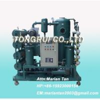 Buy cheap ZJA Double-Stage Vacuum Transformer Oil  Purifier, Insulation Oil Recycling Machine from wholesalers