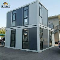 Buy cheap Modular Design Flat Pack Container House Durable Steel Structure Quick Assembled from wholesalers
