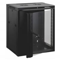 Buy cheap 12u Wall Mount Data Cabinet Wall Network Cabinet Customized Logo Door Design product