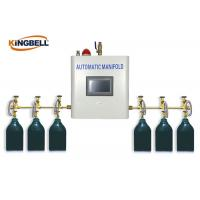 Buy cheap Automatic Medical Gas Manifold PLC Control Brass Gas Type Oxygen from wholesalers