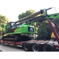 Buy cheap KR150C Hydraulic Piling Rig , 52m Max Drilling Depth Bored Pile Driving Machine from wholesalers