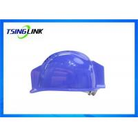 Buy cheap H.264 Coding Head Protective 4G Wireless Device With 1080P Resolution Camera Lamp product