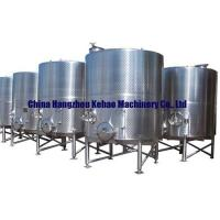 Buy cheap Red wine fermentation tanks from wholesalers