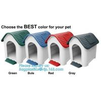 Buy cheap pet cage , plastic dog house with lock , dog house with steel door, Plastic Dog Outdoor Pet House, Home Indoor Outdoor E from wholesalers