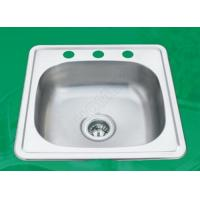 Buy cheap kitchen sink,one bowl with stainless steel from wholesalers