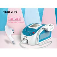 Buy cheap Mini Acne Clearance Hair / Pigmentation / Vascular Removal Facial Rejuvenation  SHR Machine from wholesalers