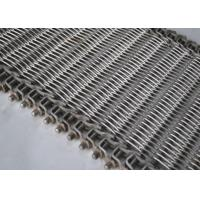 Buy cheap Manufacturer supply stainless steel conveyor belt for food industrial from wholesalers