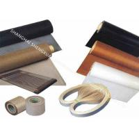 Buy cheap Bullnose Joint Teflon Coated Fiberglass Conveyor Belt For Screen Printing Machine from wholesalers