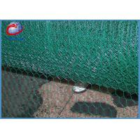 Buy cheap Green Coated Chicken Wire / Pvc Coated Chicken Wire Oxidation Resisting product