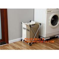 Buy cheap Storage Boxes & Bins fabric canvas storage boxes/ clothes basket, Home Furnishing beam port storage box folding laundry from wholesalers